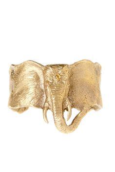 Lucky Elephant Cuff