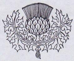 Thistles tattoo