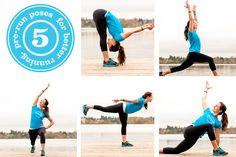 5 pre-run poses for better running. #yoga