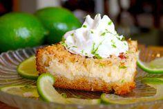 Key Lime Cream Cheese Crumble Cake