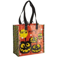 Pier 1 Happy Halloween Reusable Bag ~ @Christina McCauley did you find trick or treat bags for the girls?