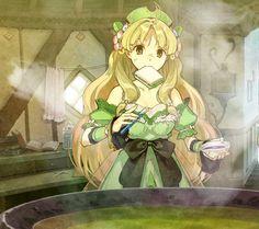 Ayesha With Sandwich - Characters & Art - Atelier Ayesha: The Alchemist of Dusk