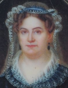 Rachel Jackson, wife of President Andrew Jackson.  She died just a month before her husband became President. She was depressed and died of a heart attack after her health was weakened by slanderous accusations of bigamy and adultery.  She was buried in the dress she was to wear at the inauguration.