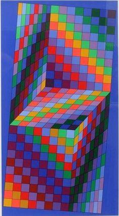 Victor Vasarely op art