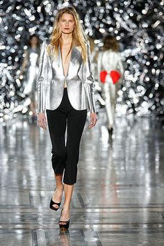Silver!   New year's eve jacket
