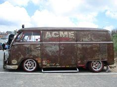 The legendary T1 VW Bus