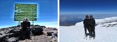 """Jill and Charlotte said """"The single lasting impression of my Kilimanjaro trek was our sense of achievement. The hardest thing I have ever done in my life. I would not have been successful without the support of the excellent crew."""""""