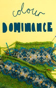 Technique Thursday — Colour Dominance — Ysolda