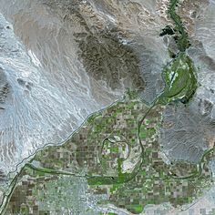 Yuma, AZ - from space
