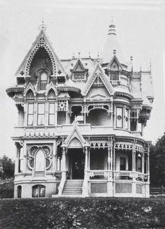 Victorian Mansion, Portland, Oregon
