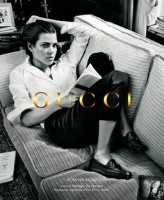 Charlotte Casiraghi for Gucci Forever Now by Inez & Vinoodh
