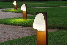 luz de jardin