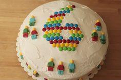 Lego Man Birthday Cake