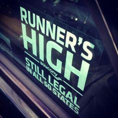 Runner's High.