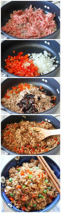 Asian Turkey Lettuce Wraps