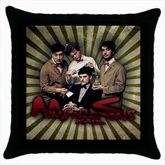 MUMFORD AND SONS Quality Cushion Cover Throw Pillow Case Gift  http://stores.shop.ebay.co.uk/giftbazaar