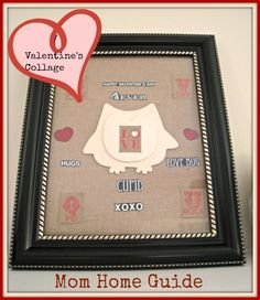 Framed Valentine's DAy Love Songs for Valentine's Day at Home Date Night  Collage