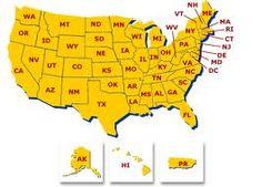 52 States Abbreviations - USA on Pinterest | US states