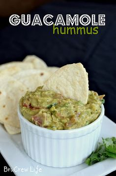 Guac Hummus. Yes, PLEASE!