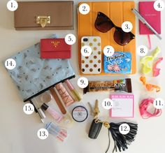 Things you should keep in your bag. ;)