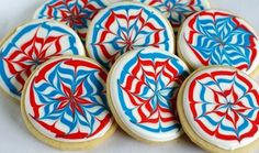 Awesome firework cookies!