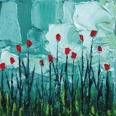 stori, canvas prints, tulip, art prints, paint, posters, aja trier, flower, fields