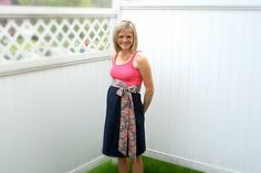 DIY maternity dress