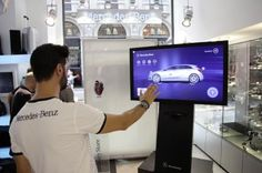 Mercedes targets young affluents via digital showroom experience