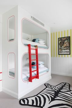West London Children's Bedroom Bedroom Living Kids Craftsman Contemporary by Turner Pocock