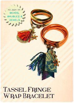 Tassel Fringe Wrap Bracelet