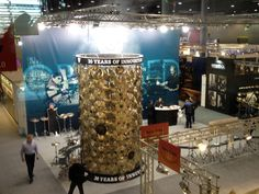 The booth at Musikmesse in Frankfurt, Germany - all ready for visitors
