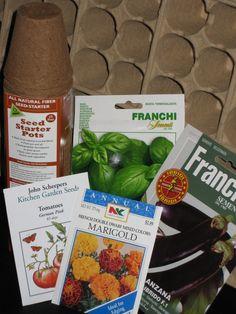 Indoor Seed Starting Schedule
