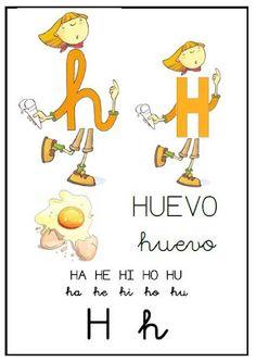 Abecedario: H