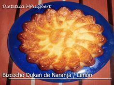 Bizcocho Dukan de Naranja/Limón