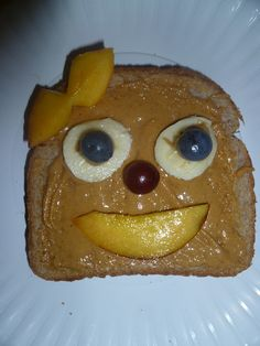 Mama to 4 Blessings - Our Homeschool Blog  Fun open faced sandwich for kids http://mamato3blessings.blogspot.com/2012/06/summer-fun-linky-share-your-kid_26.html