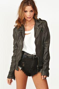 Vienna Leather Jacket