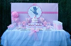 Pink Ballerina Dance Ballet Girl 4th Birthday Party Planning Ideas