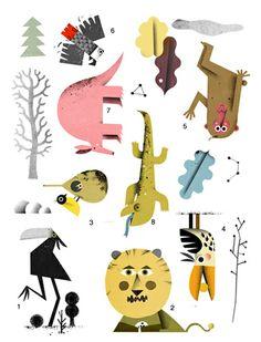 Philip Giordano: Work in progress - Stickers