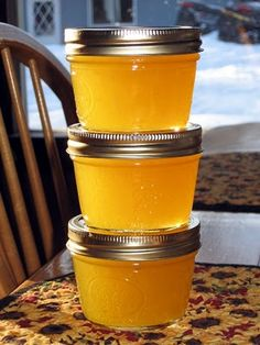 CRUSHED PINEAPPLE JAM RECIPE ~ Says: Use on toast, muffins, ham glaze, roast chicken glaze, pork roast glaze, cookie fillings, etc... This is excellent, super quick and super tasty!