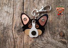 Corgi Keychain by PoochTags