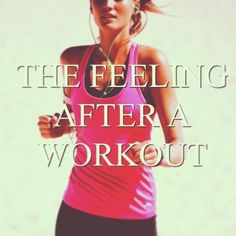 Endorphins :)) #exercise #happy #workout #quote