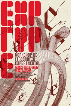 Poster EXP_Workshop 2007 by Hugo Werner