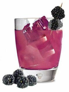 Bourbon Street Blackberry Brut. Tequila, champagne, and blackberries.