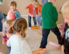Simple party games for kids