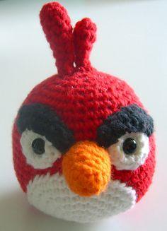 angry birds crochet - love it!
