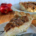 Deep-Dish Streusel-Top Cream Cheese Apple Pie