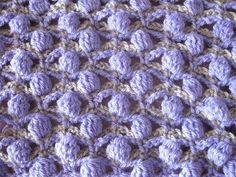 Shadow Tracery Stitch   Crochet Stitch tutorial