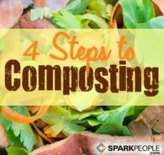 This is an AWESOME and easy-to-understand intro to composting for beginners. Read this and you will know exactly how to get started with a compost bin/pile this spring or summer! | via @SparkPeople #food #garden #green #eco #kitchen
