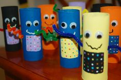 Toilet Paper Tube Robots - Robot Craft