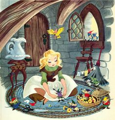 """from an old edition of """"Walt Disney's Giant Story Book"""""""